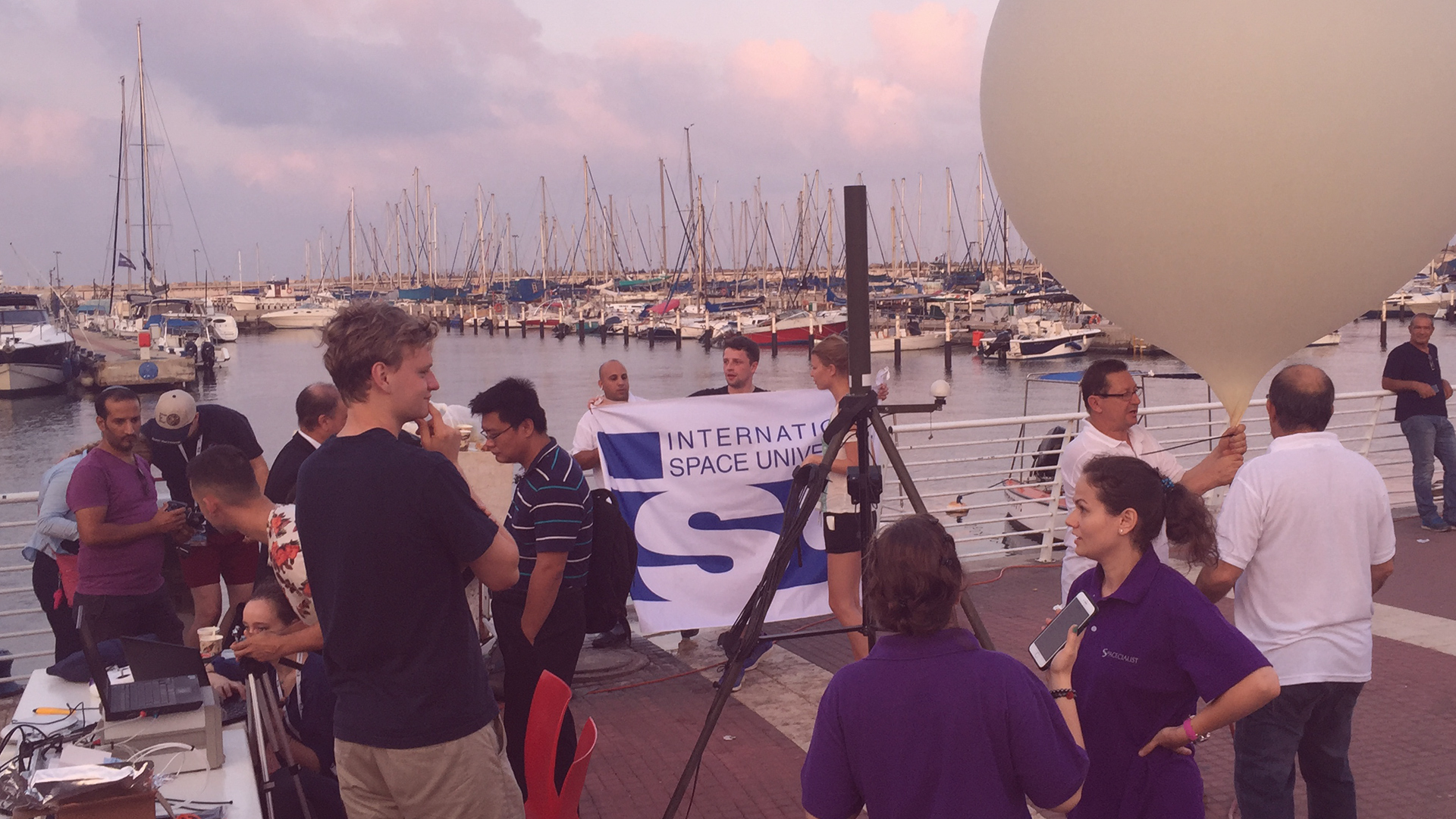 SSP16 Balloon Launch with ENG and SCI