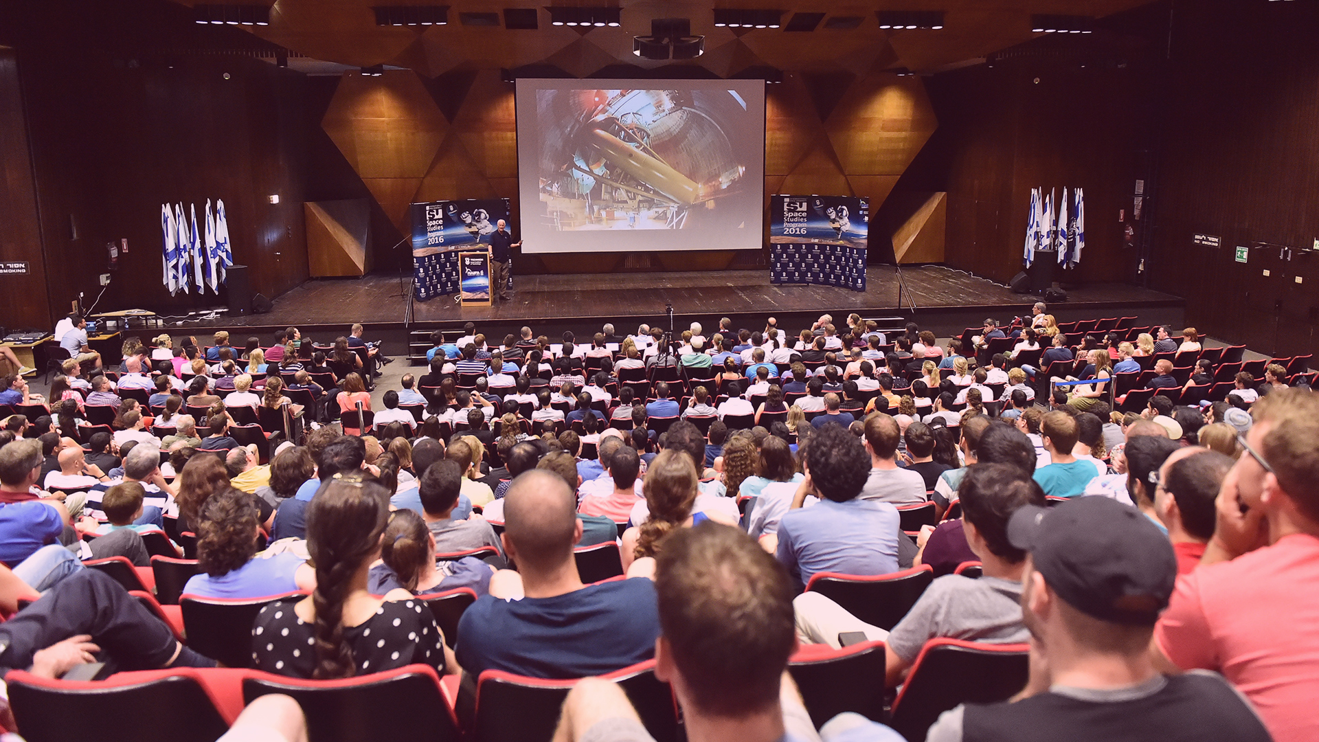 Jeff Hoffman distinguished lecture at SSP16